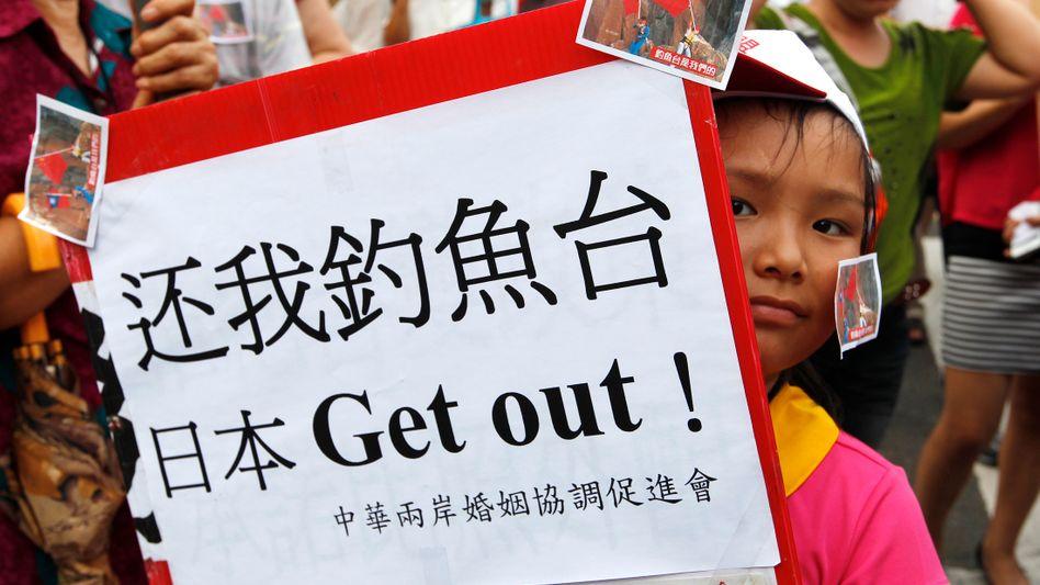 Protest gegen Japan: Der Inselstreit entfacht den Zorn