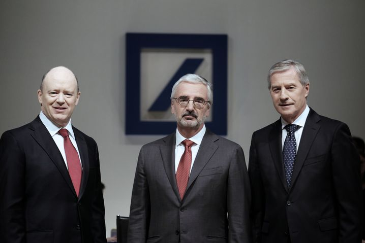 Bankmanager Cryan, Achleitner