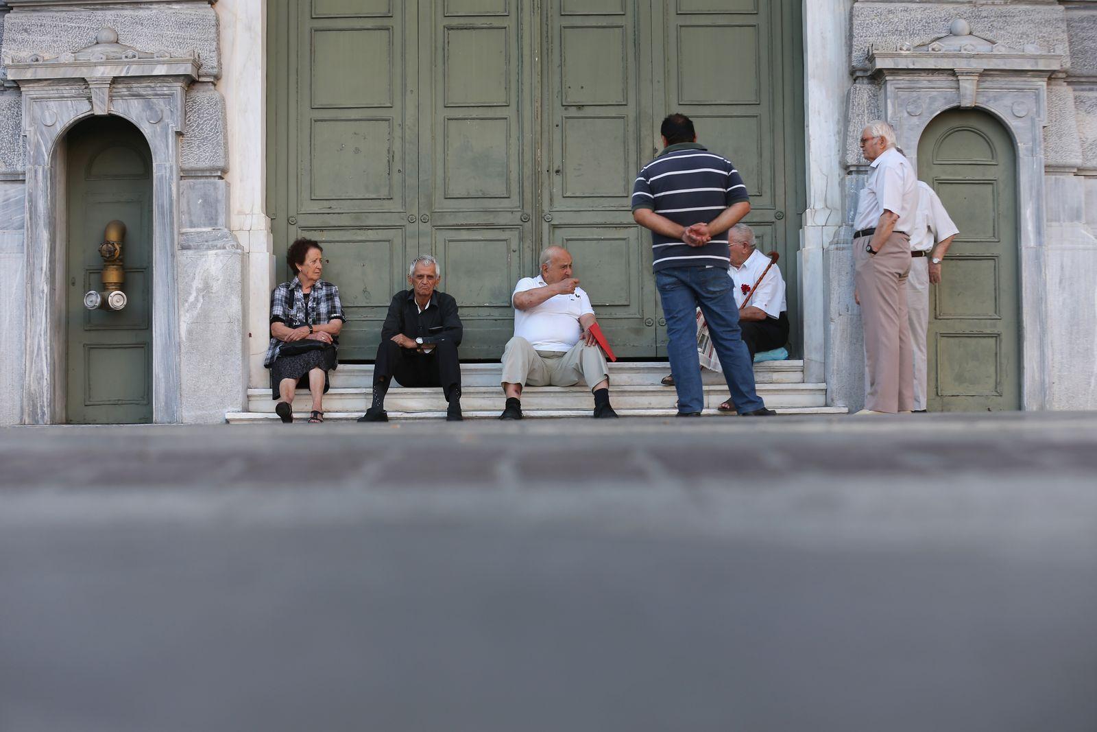 Griechenland / Rentner