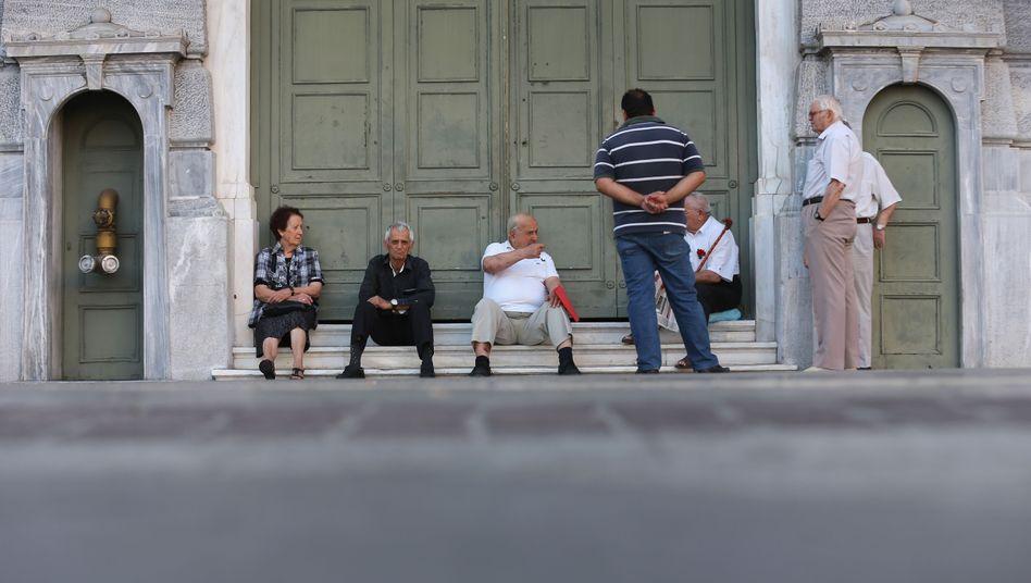 Senioren in Griechenland: Immer mehr Menschen sind depressiv