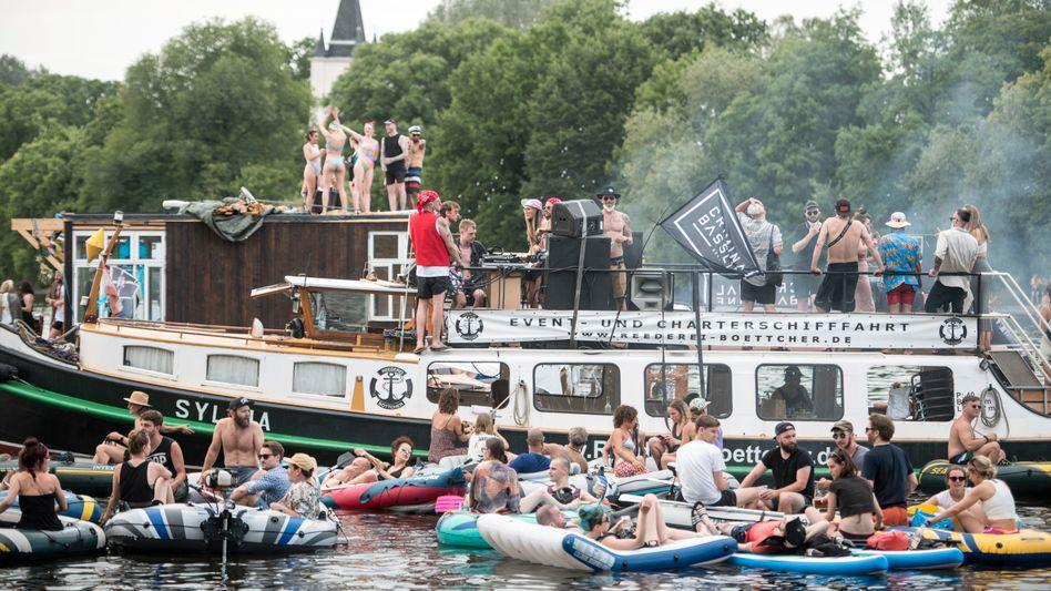 Partyboot in Berlin