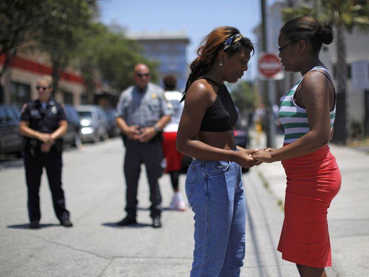 Trauernde in Charleston: Rassismus wird in den Südstaaten zu oft als Kavaliersdelikt abgetan