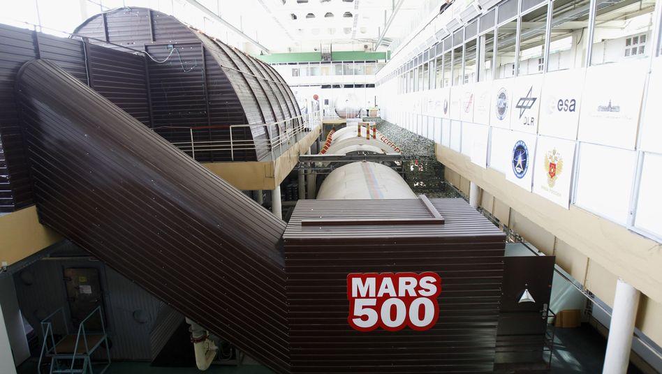 """Projekt """"Mars 500"""": """"Eintönige Abgeschiedenheit"""""""