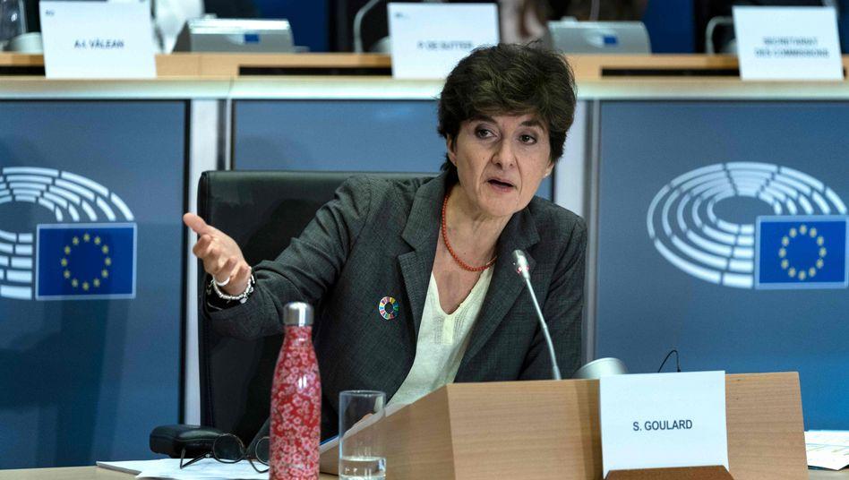 Macrons Kandidatin Goulard: vom Europaparlament abgelehnt