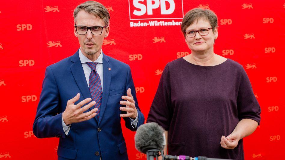 SPD-Politiker Lars Castellucci, Leni Breymaier