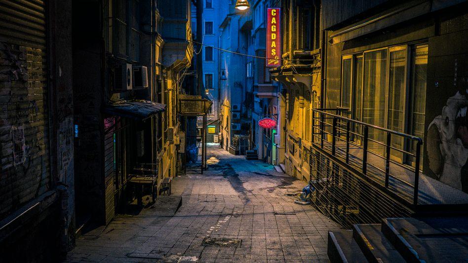 Gasse im Stadtteil Beyoglu
