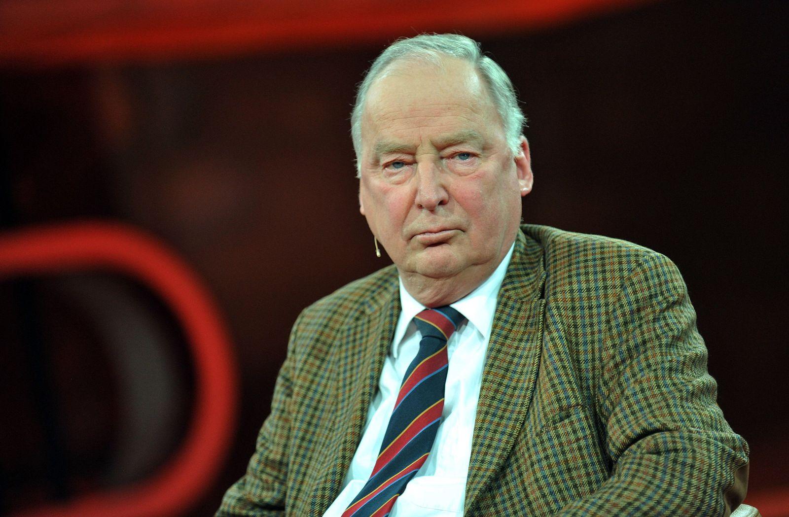 Talkshow von Günther Jauch mit Alexander Gauland