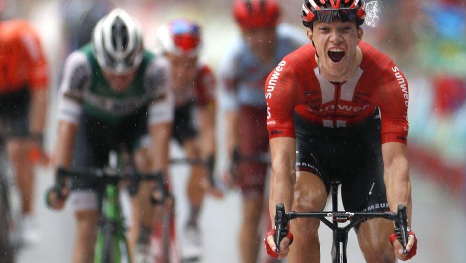 """""""Atemberaubend"""": Nikias Arndt gewinnt die 8. Etappe der Vuelta"""