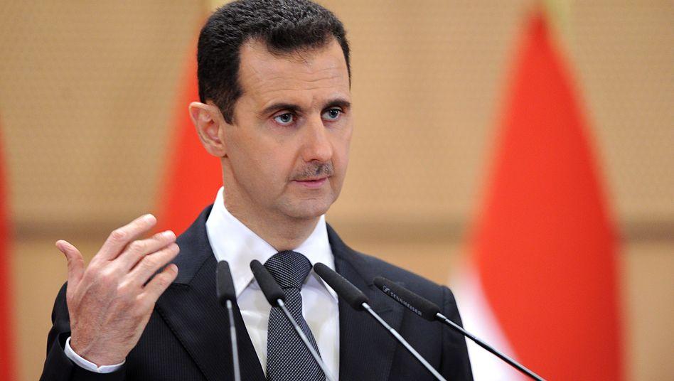 """Syriens Machthaber Baschar al-Assad: """"Ich werde für mein Land sterben"""""""