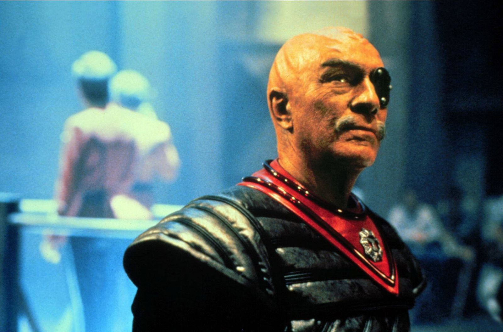 Christopher Plummer Characters: GENERAL CHANG Film: Star Trek Vi: The Undiscovered Country (USA 1989) Director: Nichola