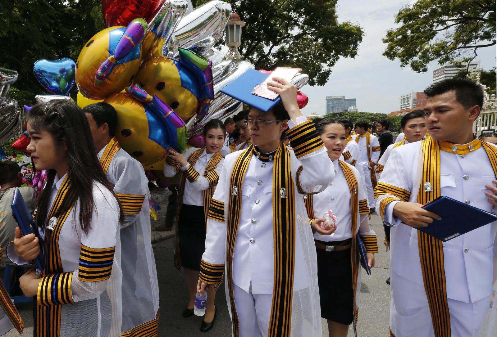 Thailand Studenten / Uni