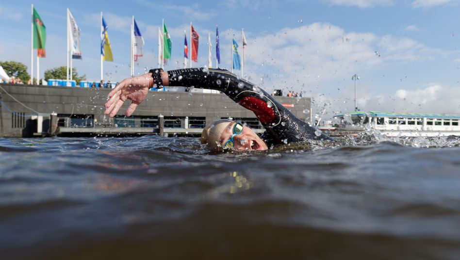 Triathlon in Hamburg, 2016