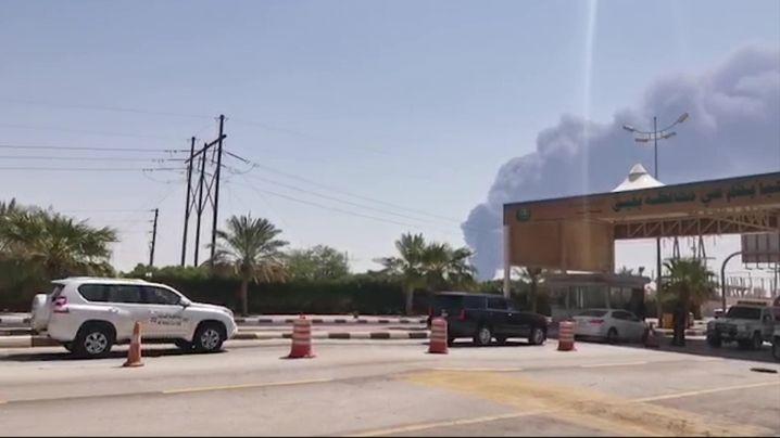 Saudi-Aramco-Anlage in Bakiak: Fünf Prozent des weltweiten Ölangebots