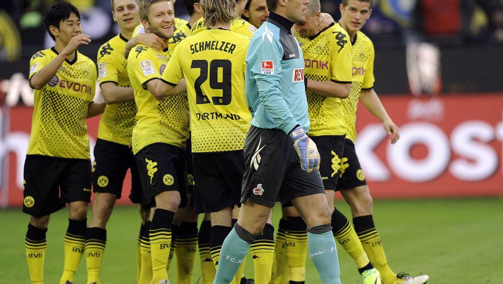 Bundesliga-Spieltag: Dortmund furios, Gladbach glücklos