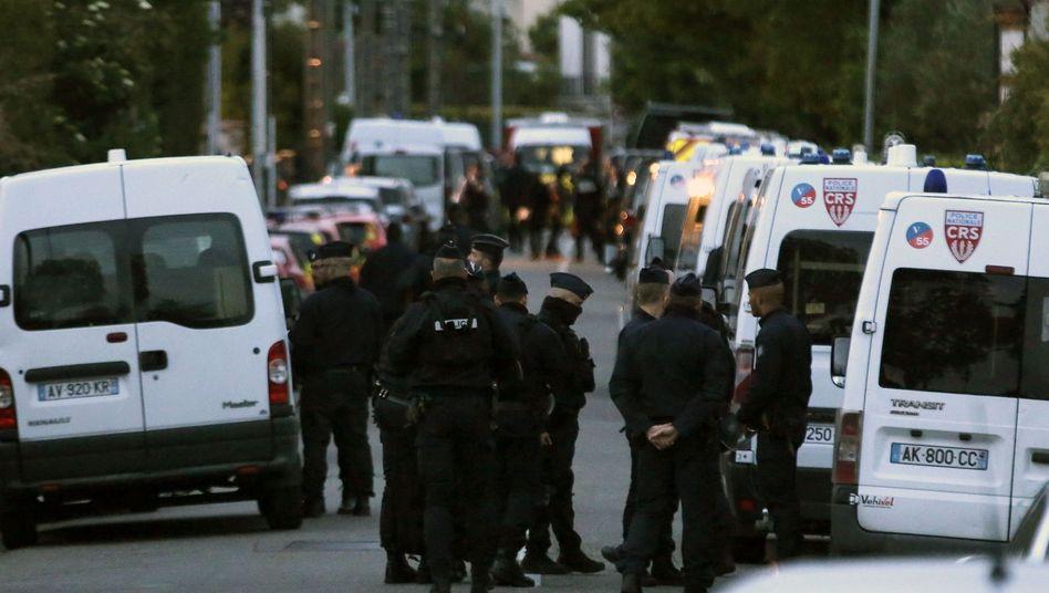 Polizeieinsatz in Blagnac bei Toulouse