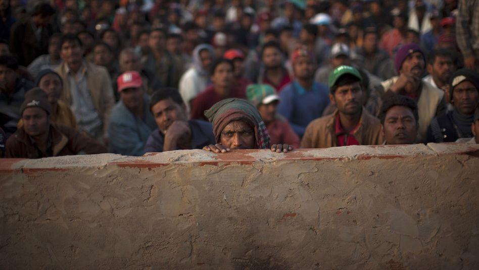 Flüchtlingslager an der tunesisch-libyschen Grenze
