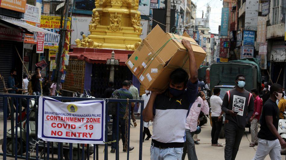"""Containment Zone"" in Bangalore"