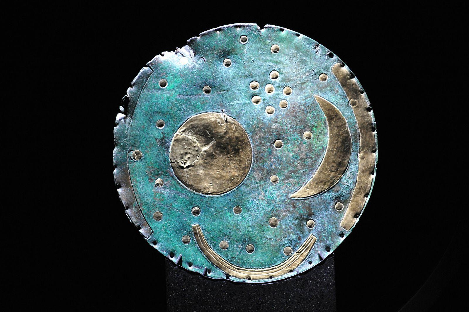Himmelsscheibe von Nebra / Museum