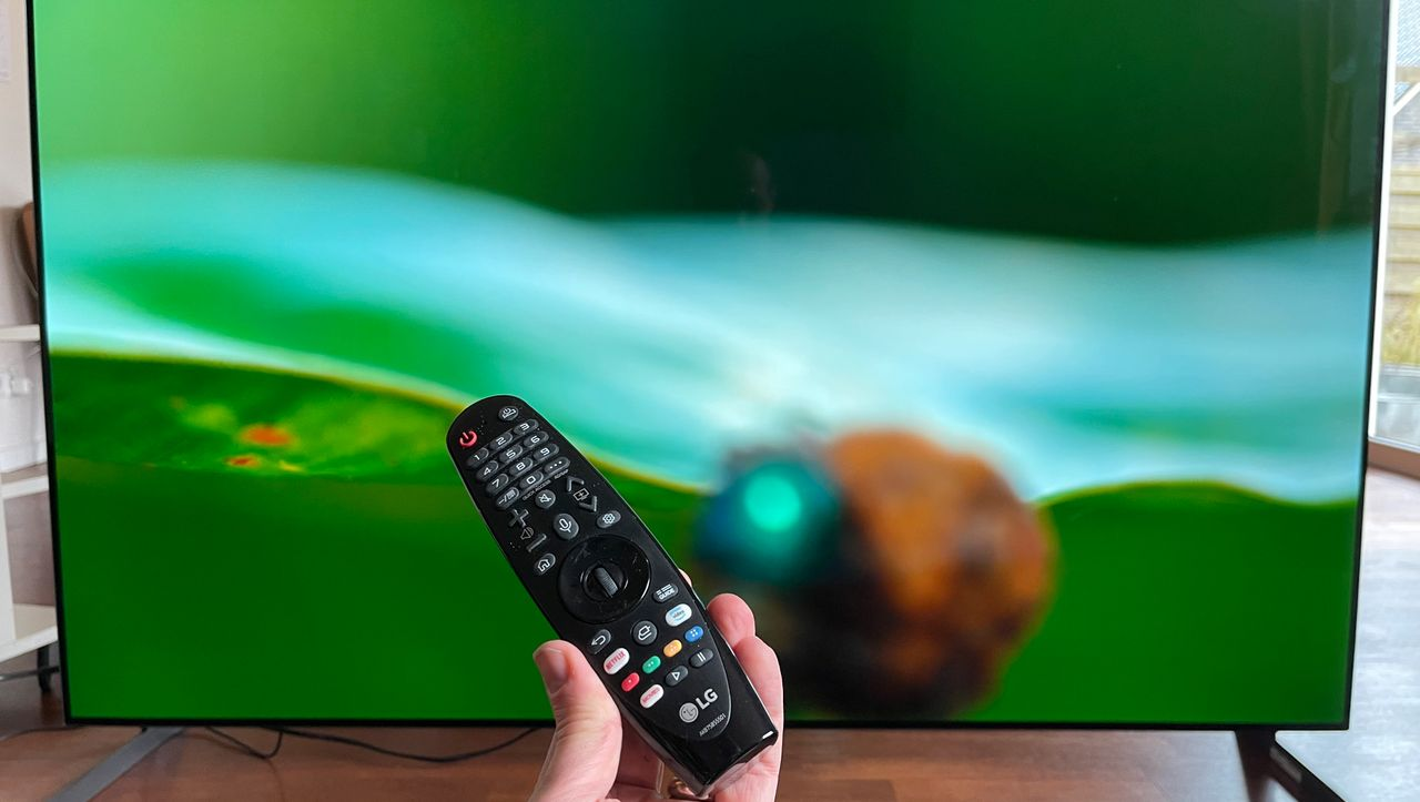 LG OLED GX im Test: Bei diesem Fernseher sehe ich Schwarz - DER SPIEGEL