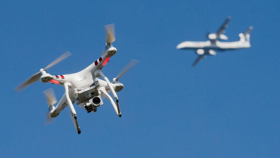 Private Drohne
