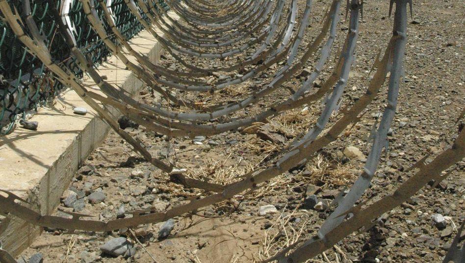 Stacheldraht im Lager Guantanamo: Jüngster Häftling mit 15 Jahren