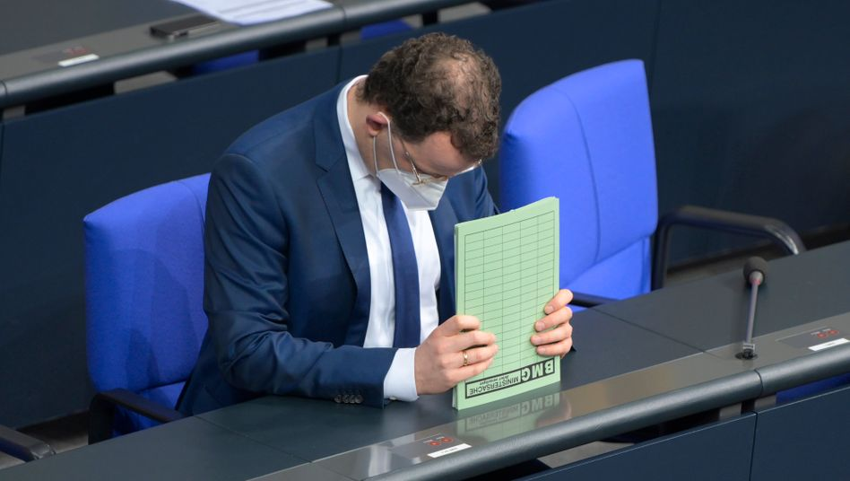 Bundesgesundheitsminister Jens Spahn (CDU)