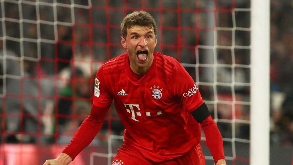 Thomas Müller ist in dieser Bundesligasaison wieder auf Torejagd