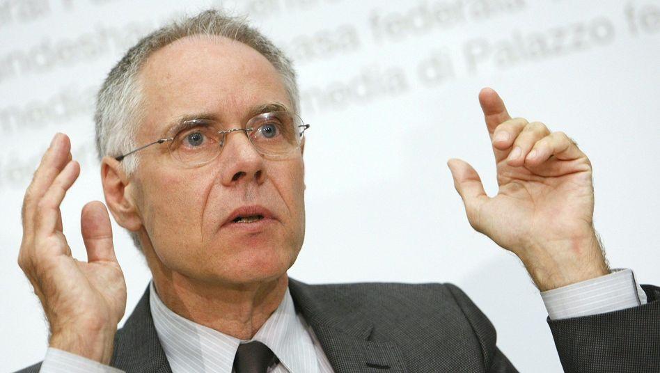 """Minister Leuenberger: """"Ich empfinde Regieren zu siebt nicht als kompliziert"""""""