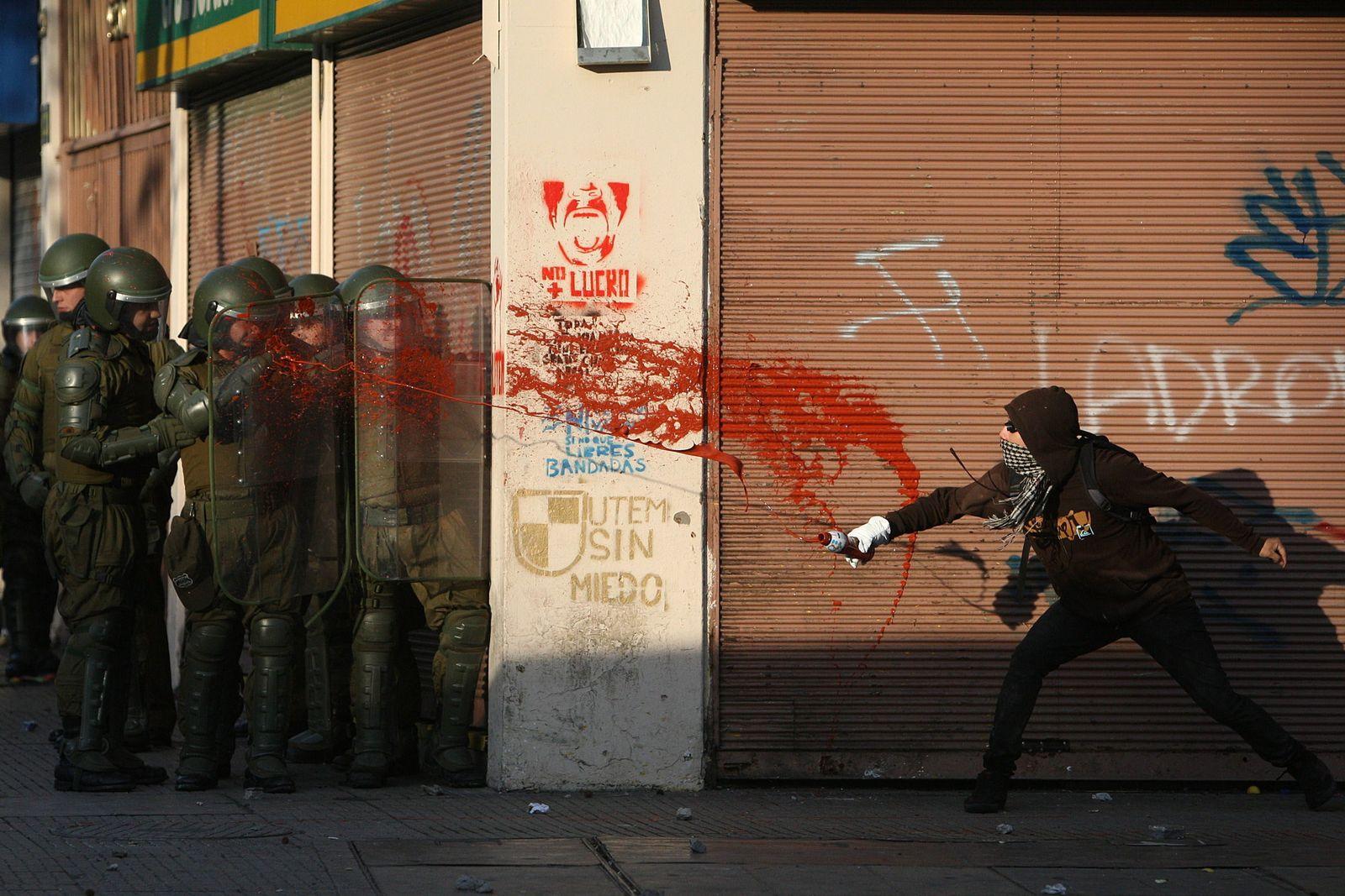 BDT Chile/ Studentenproteste