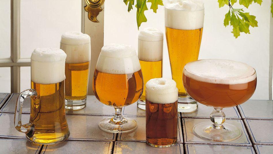 Bier: Die drei größten deutschen Brauereigruppen kommen zusammen nur auf 1,5 Prozent