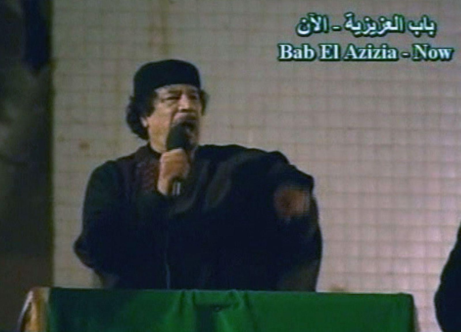 Libyen / Gaddafi