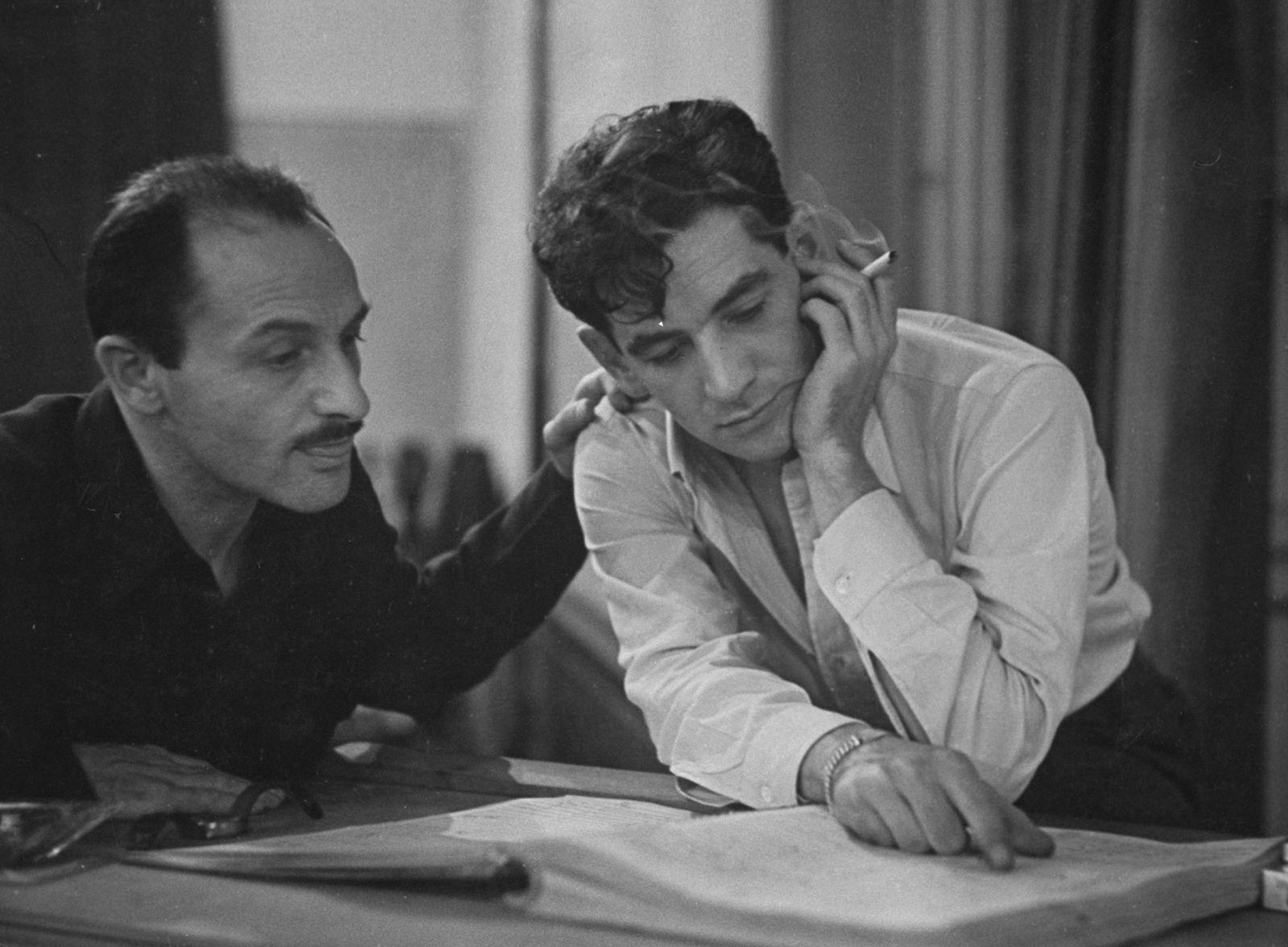 Leonard Bernstein;Marc Blitzstein