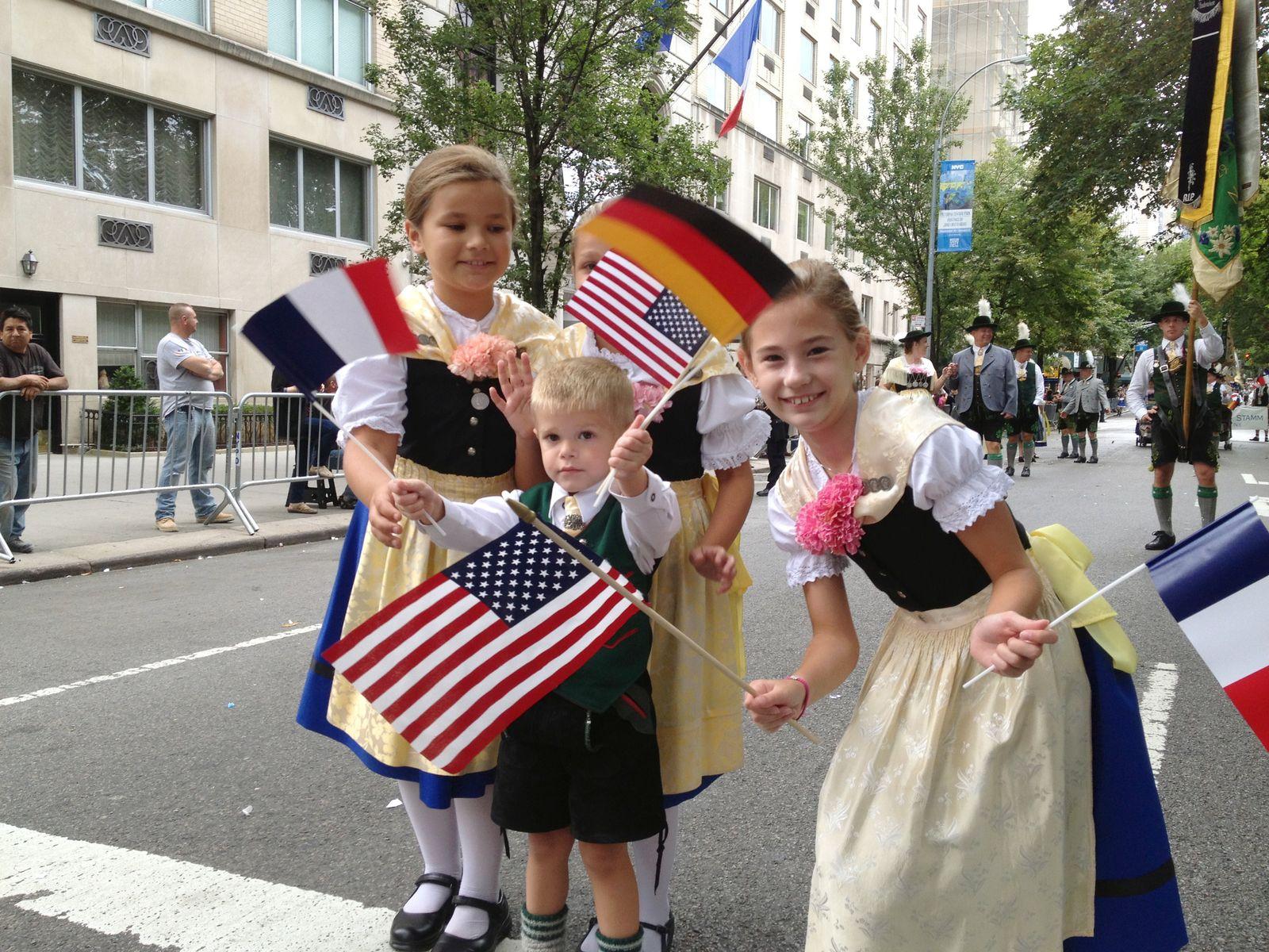 Steuben-Parade