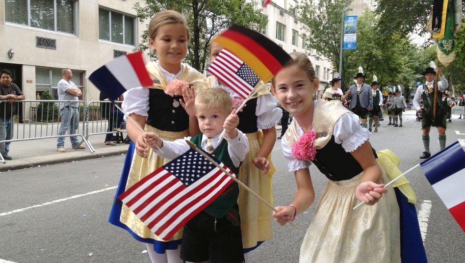 Steuben-Parade in New York (Archivbild): Das Verhältnis beider Länder wird durchaus unterschiedlich bewertet