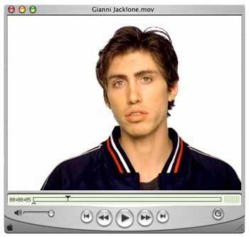 Switcher-Figur Gianni Jacklone: Weitgehend wirkungslose Kampagne