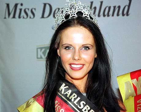 Miss Deutschland 2001: Claudia Bechstein aus Nordhausen/Thüringen
