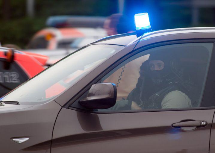 Polizeieinsatz nach den Schüssen in München (Archiv)