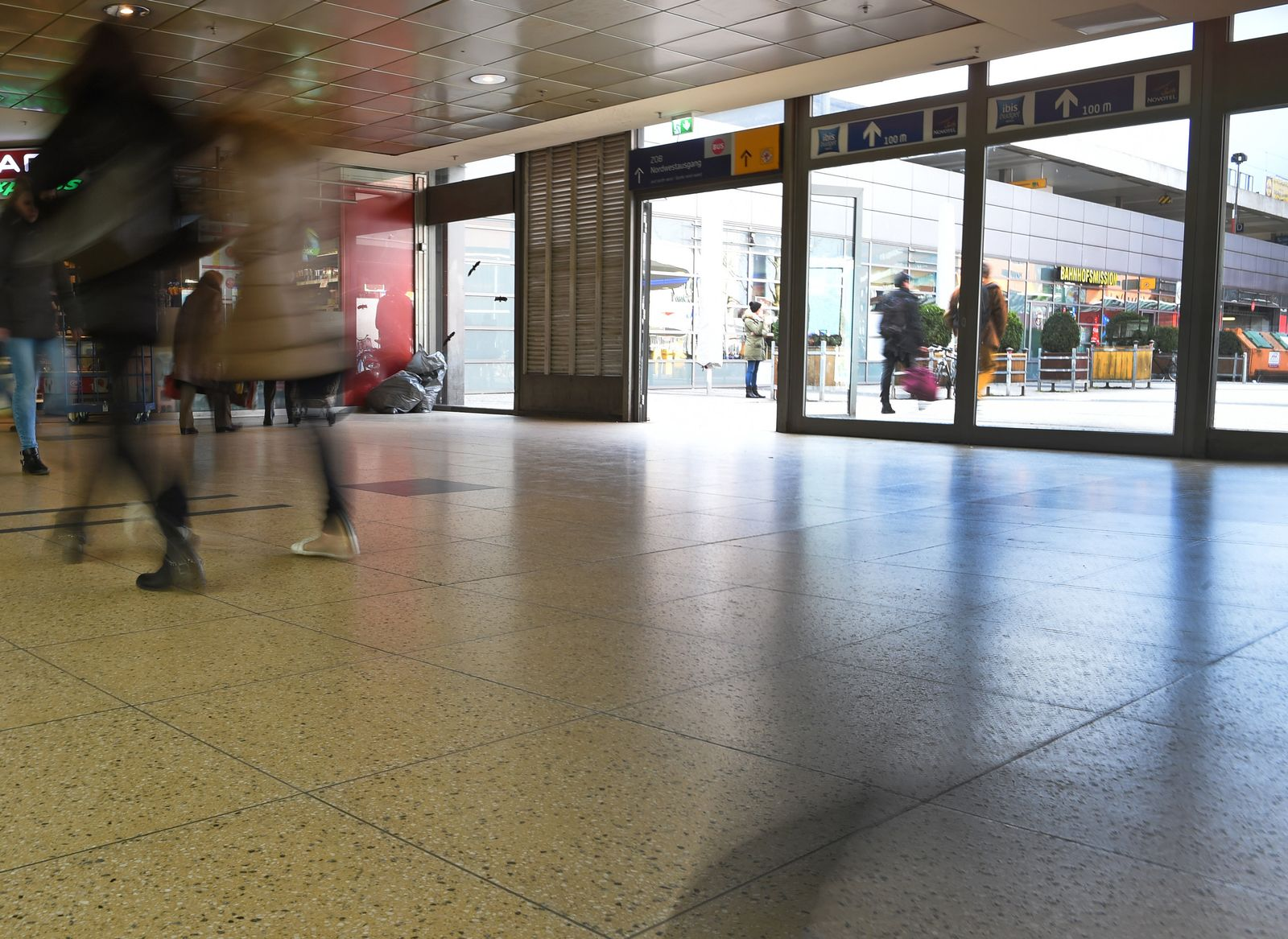 Attacke auf Polizistenin Hannover