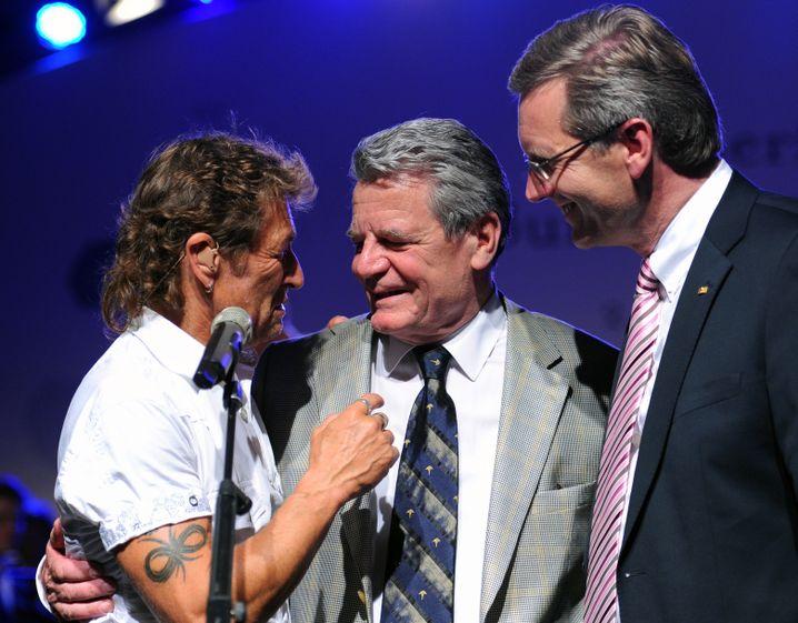 Gauck beim Sommerfest 2010