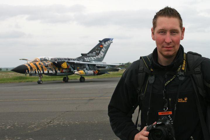 Alles für diesen Tornado: René wuchs neben einem Militärflughafen auf