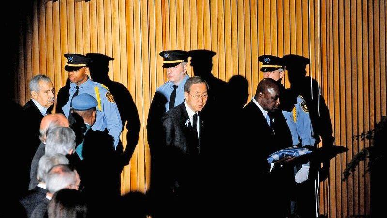 Uno-Generalsekretär Ban Ki Moon in New York