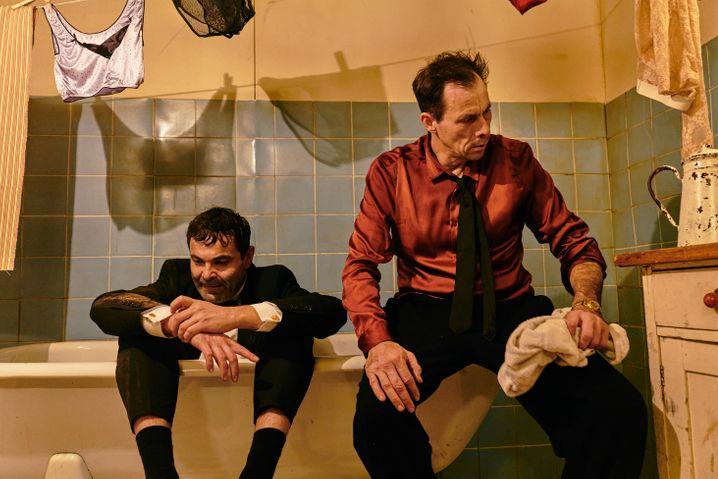 Marc Hosemann als Fabian (r.), Andreas Döhler als sein Freund Labude: Bemerkenswert unkonzentriert