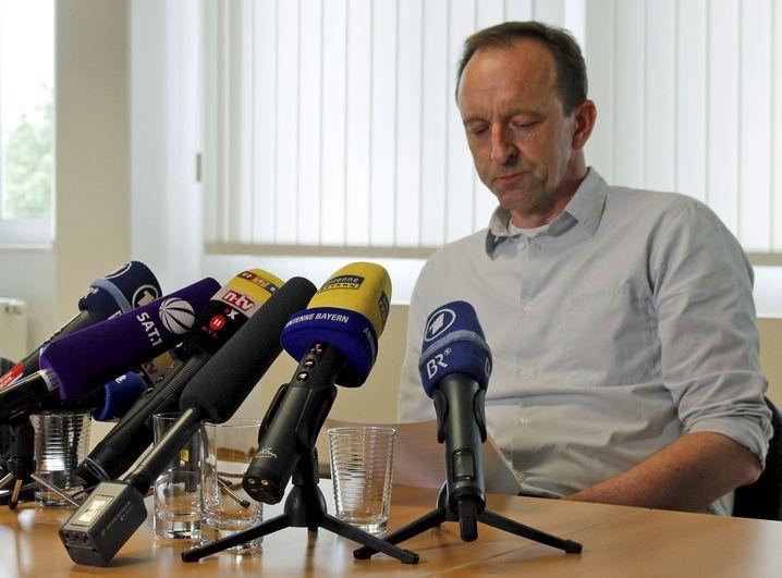 Der Inhaber der Fleischfirma Sieber, Dietmar Schach
