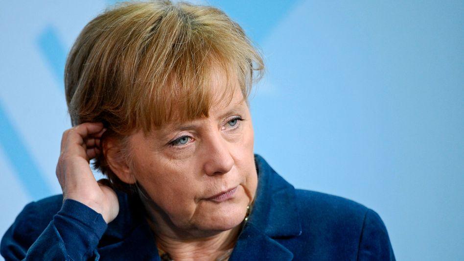 Bundeskanzlerin Merkel: Schlechte Umfragewerte für Union und FDP
