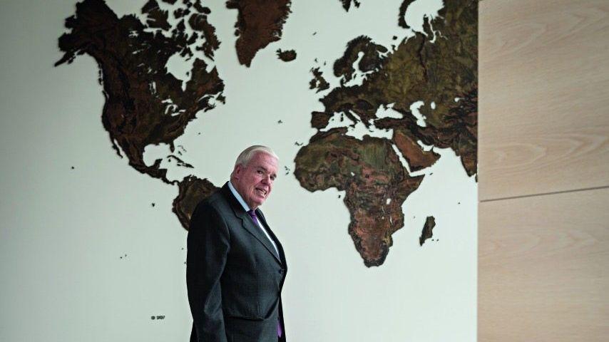 Kapitalgeber Kühne in seinem Hamburger Büro »Viele denken bestimmt, der Kühne ist verrückt«