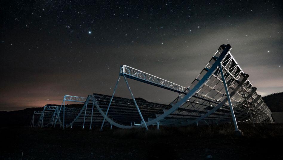 CHIME-Teleskop in Kanada: »Wir haben diesen Daten entgegengefiebert«
