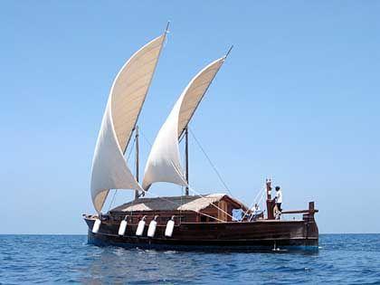 Dhoni Mighili: Im Übernachtungspreis des Luxusresorts inbegriffen sind Segelschiff samt Crew und Butler