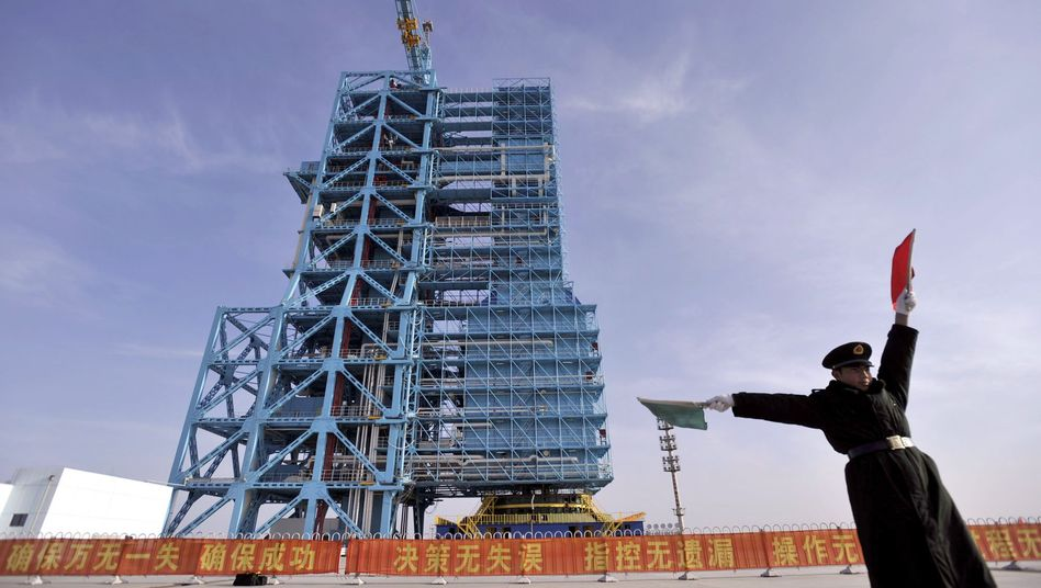 Weltraumbahnhof in Jiuquan (Archivbild): Chinas GPS-Alternative geht in Betrieb