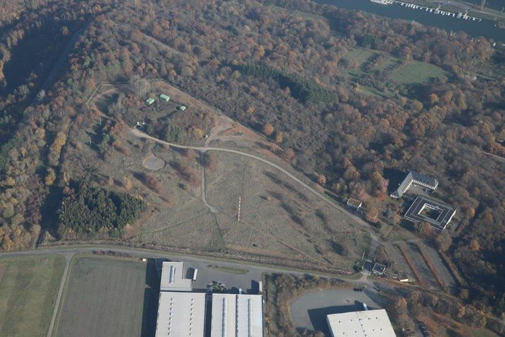 """Grundstück von oben: Der Bunker auf dem """"Mont Royal"""" ist den Traben-Trarbachern gut bekannt"""