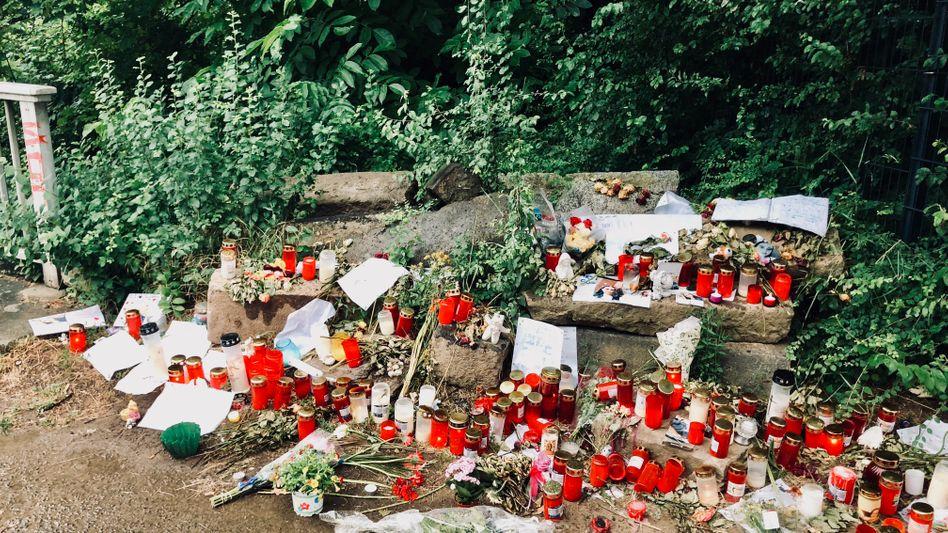 Gedenken in Wiesbaden